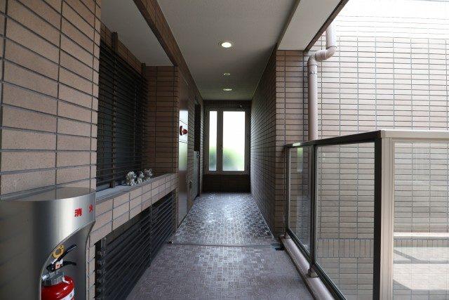 アルス代々木参宮橋コートアデリオン 外廊下