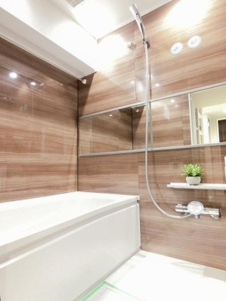 中央マンション 浴室
