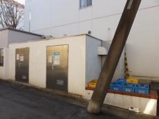駒沢ガーデンハイツ ゴミ置き場
