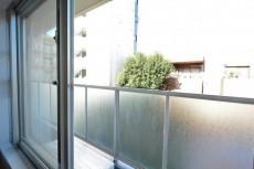 イトーピア東広尾マンション 約5.8帖洋室の窓
