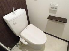ユニーブル柿の木坂 トイレ