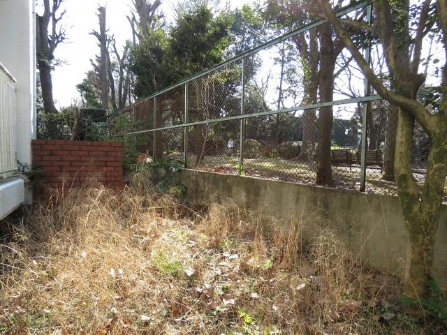 駒沢ガーデンハイツ 専用庭
