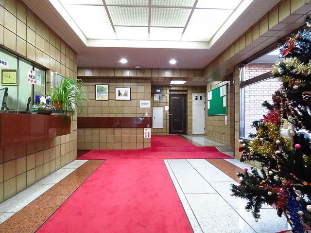 朝日広尾マンション エントランスホール