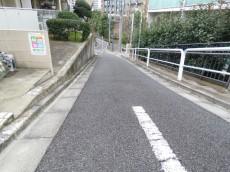 東武ハイライン高輪 前面道路