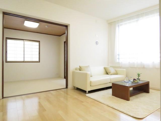 上野毛南パークホームズ LDK+和室