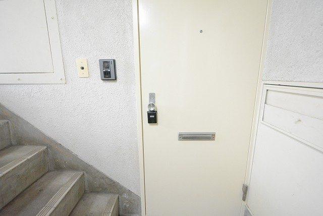 成城オリンピックマンション 玄関