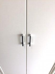 ラインコーポ箱崎 (49) 廊下に謎の観音開きの扉が…
