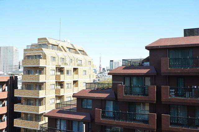 藤和渋谷常磐松ホームズ バルコニー眺望