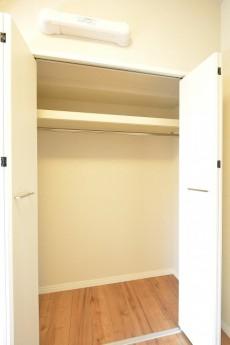 第18宮庭マンション 4.3帖洋室クローゼット