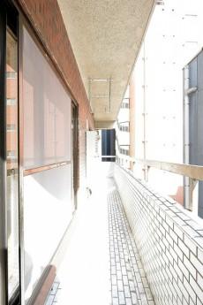第18宮庭マンション バルコニー