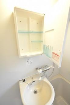 元赤坂マンション バスルーム洗面台
