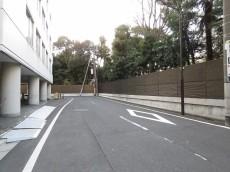 サンハイム永田町 前面道路