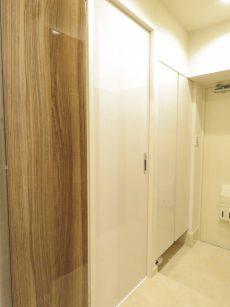 アルテール新宿 洗面室扉