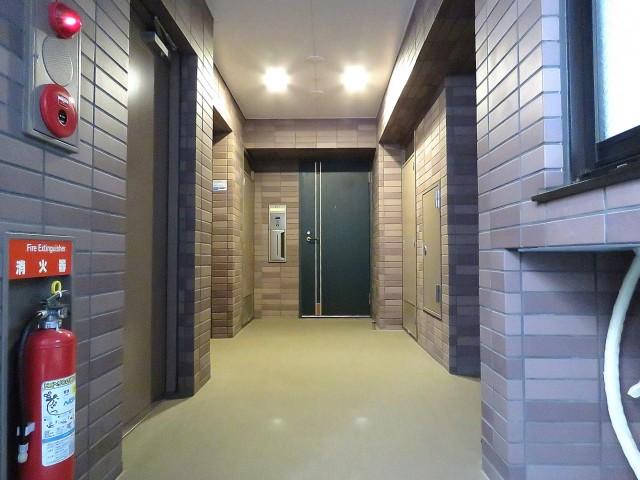藤和渋谷常盤松ホームズ 共用廊下