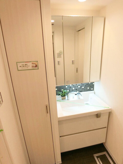 元赤坂マンション 洗面室
