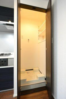 秀和築地レジデンス 洗濯機スペース