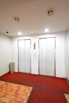 芝公園アビタシオン エレベーターホール