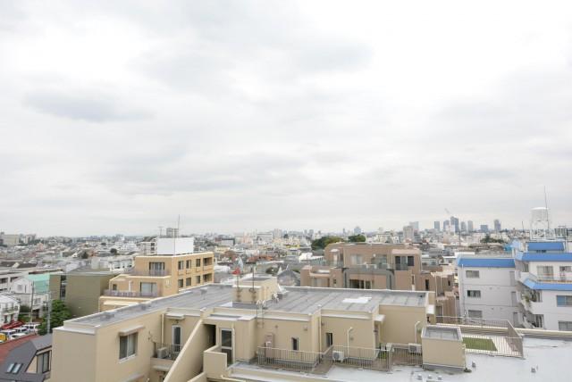 日商岩井第2自由が丘マンション703 眺望