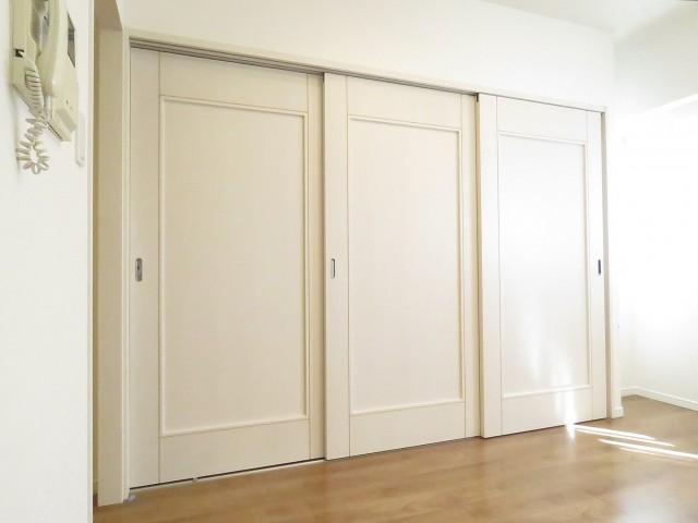 デュオスカーラ品川中延 洋室扉