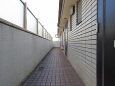 プレール都立大 共用廊下