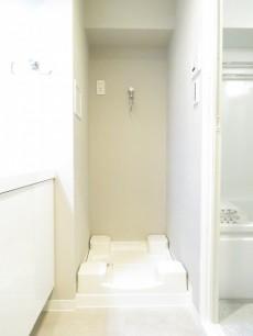 ウェルシャン築地 洗濯機置場