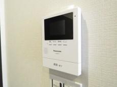 ウェルシャン築地 TVモニター付きインターホン