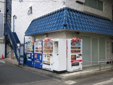 秀和築地レジデンス 自動販売機