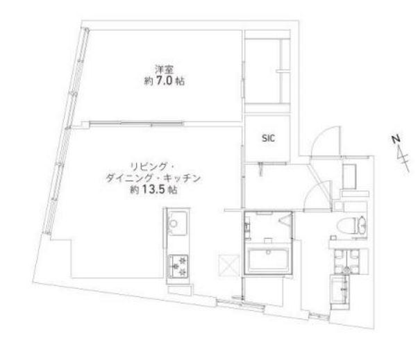 三軒茶屋ターミナルビル 間取図