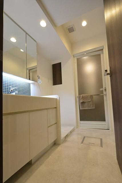 ウィルローズ築地 洗面室