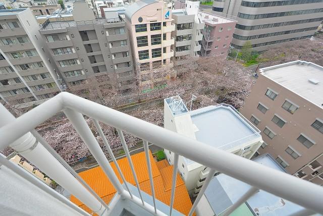大橋団地 バルコニー (4)