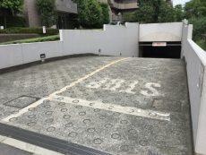 桜丘フラット マンション敷地内