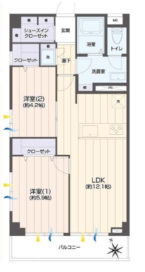 藤和用賀コープ305