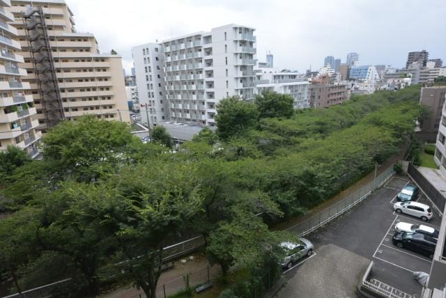 東中野ハイム602 眺望