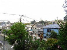 マイキャッスル二子玉川園 キッチン側バルコニー眺望