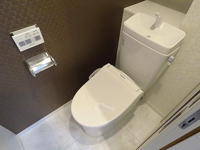 ニュー上馬マンション トイレ
