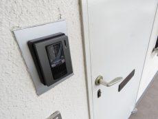 落合公園ハウス TVモニター付きインターホン