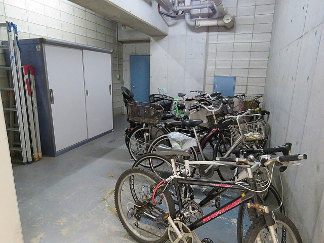 トゥール高輪 駐輪場