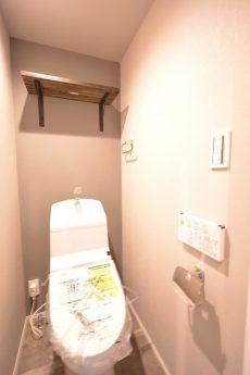 豊栄平町マンション トイレ (