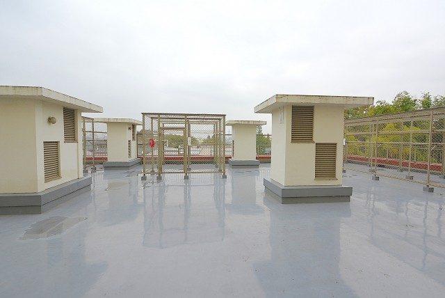 ライオンズマンション桜上水 4階洗濯干しコーナー