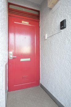 桜丘フラワーホーム 玄関