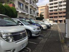 中野リハイム 駐車場