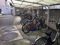 中野リハイム 駐輪場