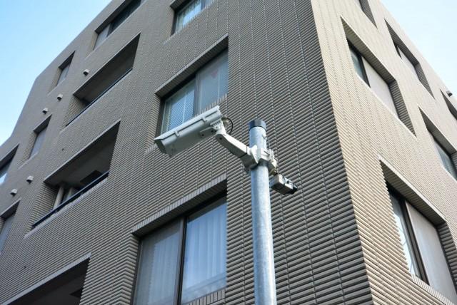 ル・アピカ成城 防犯カメラ