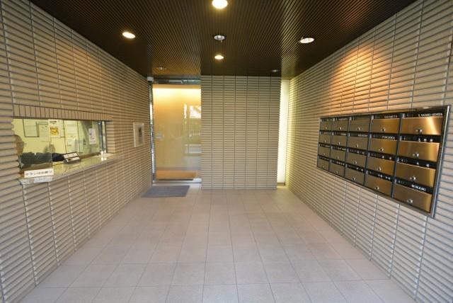 ル・アピカ成城 エントランスホール