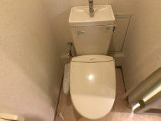 東建柏木マンション トイレ