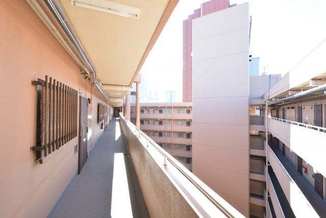 築地永谷コーポラス 玄関