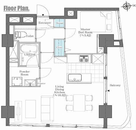 第8宮庭マンション5B