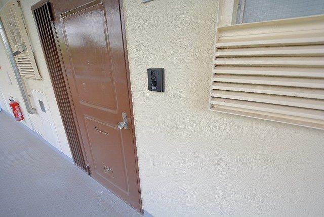 烏山南住宅  玄関