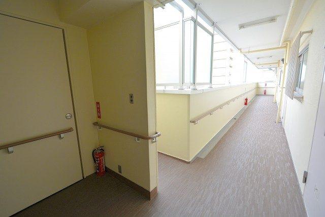上馬ハイホーム 外廊下