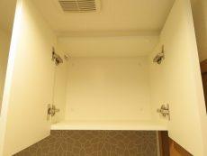 飯田橋第一パークファミリア トイレ吊戸棚